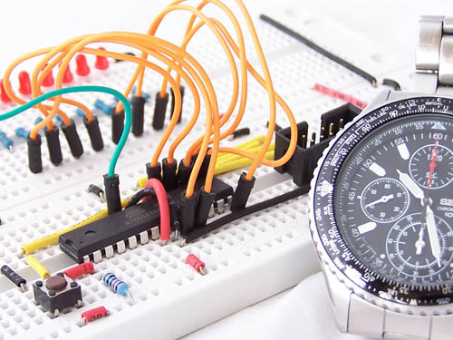 Timer interrupts on an atmega168 microcontroller