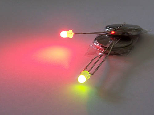 Dual Colour (Green/Red) 3mm LED