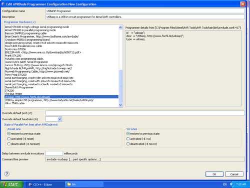 USBASP Programmer Setup