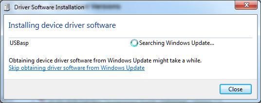 USBASP driver for Windows 7 and Windows Vista x64 - Protostack