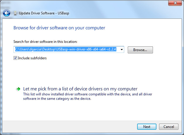 How to install Usbasp Driver in Windows 8.1 and Windows 10